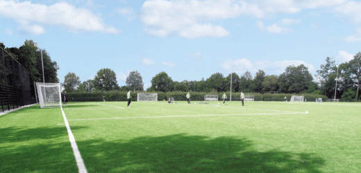 Outdoor sport kunstgrasveld