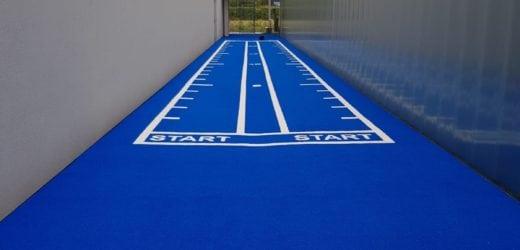 sprint track kunstgras